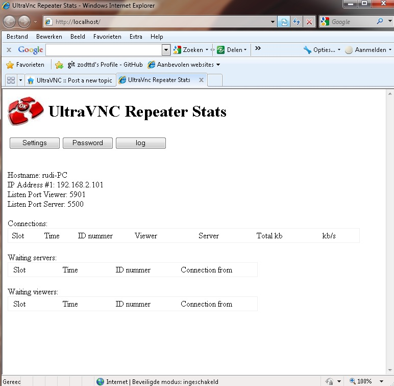 UltraVNC � View topic - repeater 2011
